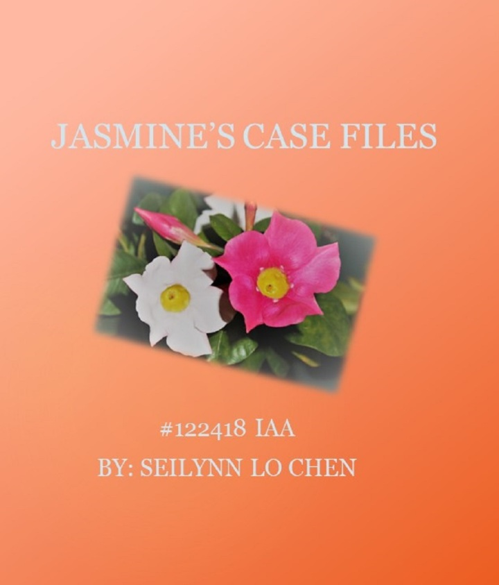 JASMINES CASE FILES IAA COVER